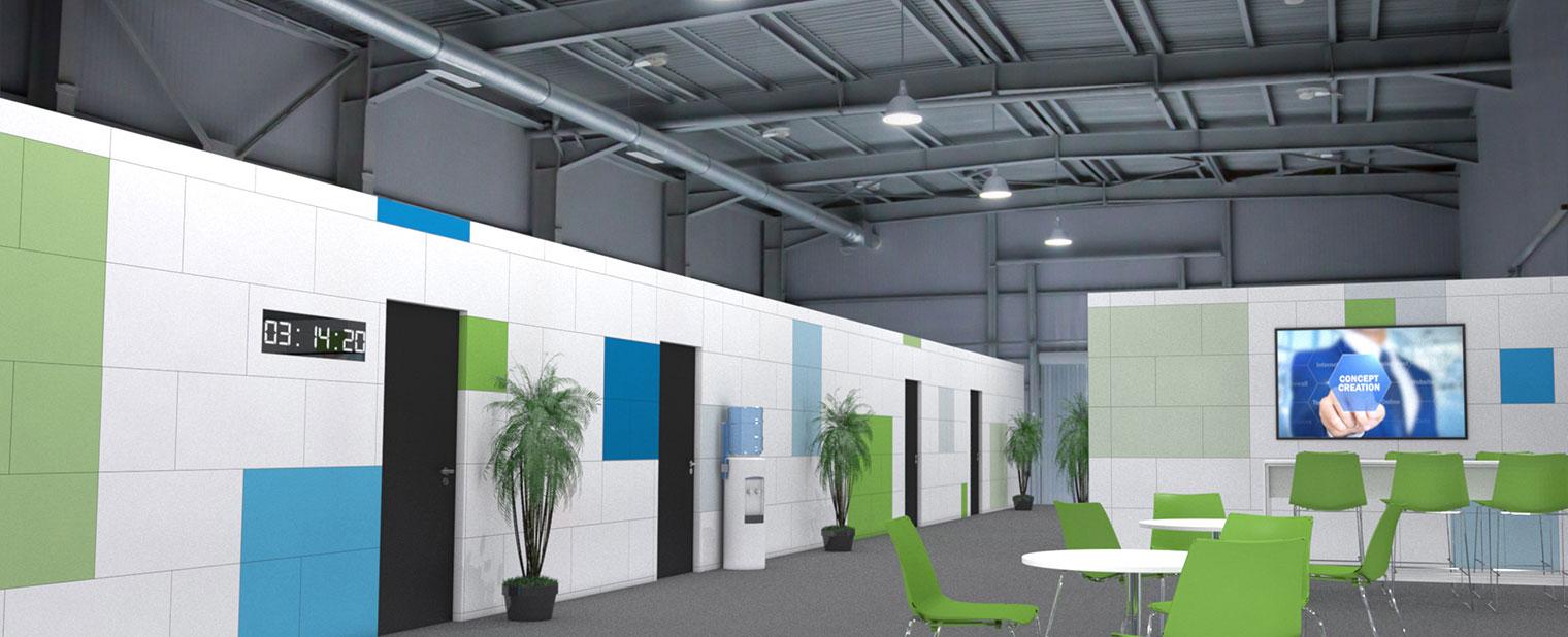 FIBS Building Systems - murs de séparation - cloisons de ...